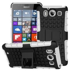 Outdoor odolný kryt na mobil Microsoft Lumia 950 - bílý - 1