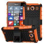 Outdoor odolný kryt na mobil Microsoft Lumia 950 - oranžový - 1/3