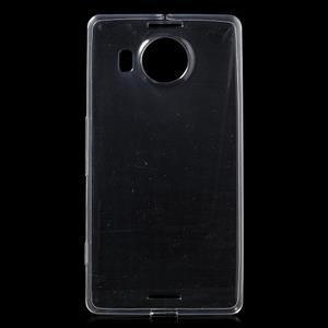 Ultratenký gelový obal na Microsoft Lumia 950 XL - transparentní - 1