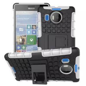 Odolný outdoor obal na mobil Microsoft Lumia 950 XL - bílý - 1