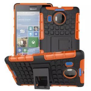 Odolný outdoor obal na mobil Microsoft Lumia 950 XL - oranžový - 1