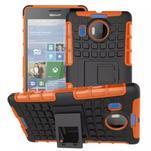 Odolný outdoor obal na mobil Microsoft Lumia 950 XL - oranžový - 1/2