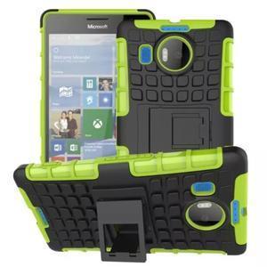Odolný outdoor obal na mobil Microsoft Lumia 950 XL - zelený - 1