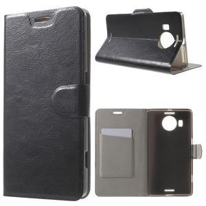 Horse peněženkové pouzdro na Microsoft Lumia 950 XL - černé - 1