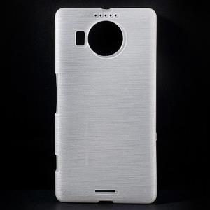 Brushed gelový obal na mobil Microsoft Lumia 950 XL - bílý - 1