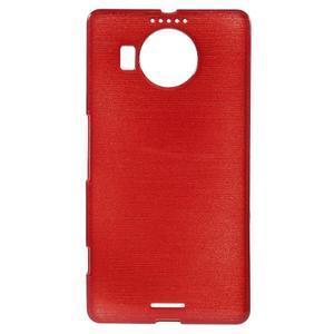 Brushed gelový obal na mobil Microsoft Lumia 950 XL - červený - 1