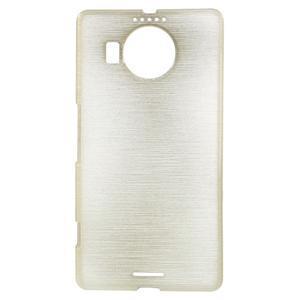 Brushed gelový obal na mobil Microsoft Lumia 950 XL - zlatý - 1