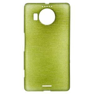 Brushed gelový obal na mobil Microsoft Lumia 950 XL - zelený - 1