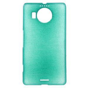 Brushed gelový obal na mobil Microsoft Lumia 950 XL - modrý - 1