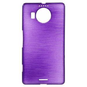 Brushed gelový obal na mobil Microsoft Lumia 950 XL - fialový - 1
