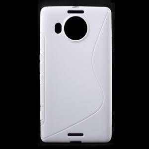 S-line gelový obal na mobil Microsoft Lumia 950 XL - bílý - 1