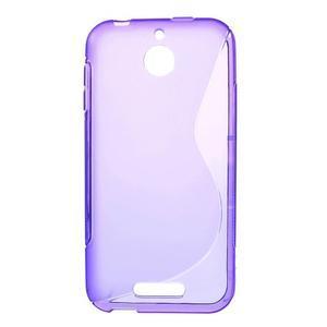 S-line gelový obal na mobil HTC Desire 510 - fialový - 1
