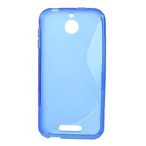 S-line gelový obal na mobil HTC Desire 510 - modrý - 1