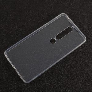 Transparentní gelový obal na Nokia 6.1 - 1