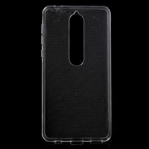 Čirý gelový obal na Nokia 6.1 - 1
