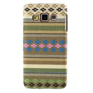 Obal potažený látkou na Samsung Galaxy A3 - 1