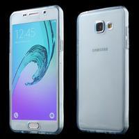 Gelový obal 2v1 pro zadní kryt a displej na Samsung Galaxy A5 (2016) - modrý - 1/7