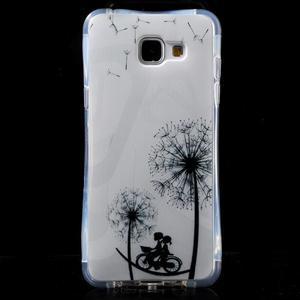 Tvarovaný gelový obal na Samsung Galaxy A5 (2016) - láska - 1