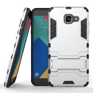 Odolný kryt na mobil Samsung Galaxy A5 (2016) - stříbrný - 1
