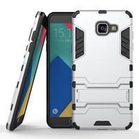 Odolný kryt na mobil Samsung Galaxy A5 (2016) - stříbrný - 1/4