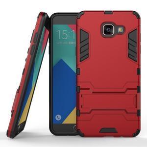 Odolný kryt na mobil Samsung Galaxy A5 (2016) - červený - 1