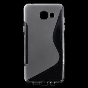 S-line gelový obal na mobil Samsung Galaxy A5 (2016) - transparentní - 1