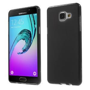 Matný gelový kryt pro Samsung Galaxy A5 (2016) - černý - 1