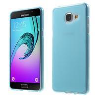 Matný gelový kryt pro Samsung Galaxy A5 (2016) - modrý - 1/7