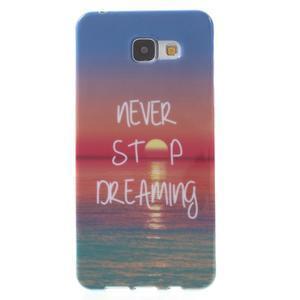 Obal s motivem na mobil Samsung Galaxy A5 (2016) - dreaming - 1