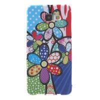Obal s motivem na mobil Samsung Galaxy A5 (2016) - malované květy - 1/7