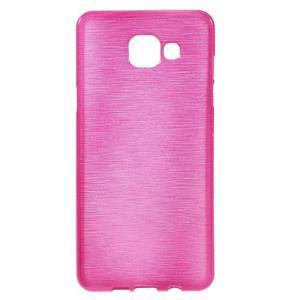 Brush gelový obal na Samsung Galaxy A5 (2016) - rose - 1