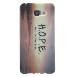 Obal s motivem na mobil Samsung Galaxy A5 (2016) - hope - 1