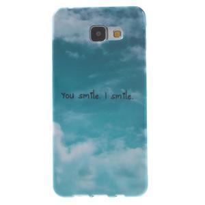 Obal s motivem na mobil Samsung Galaxy A5 (2016) - smile - 1