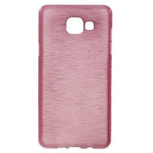 Brush gelový obal na Samsung Galaxy A5 (2016) - růžový - 1