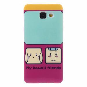 Emotive obal pro mobil Samsung Galaxy A5 (2016) - přátelé - 1