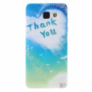 Emotive obal pro mobil Samsung Galaxy A5 (2016) - děkuji - 1