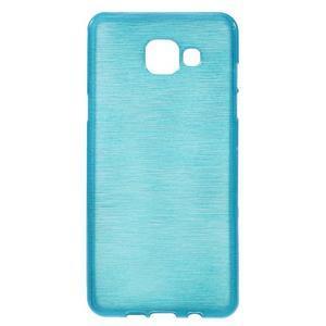 Brush gelový obal na Samsung Galaxy A5 (2016) - modrý - 1