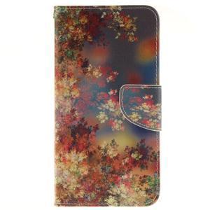 Pouzdro na mobil Samsung Galaxy A5 (2016) - podzimní lístečky - 1