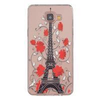 Transparentní gelový obal na Samsung Galaxy A5 (2016) - Eiffelova věž - 1/4