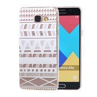 Silk Gelový obal na mobil Samsung Galaxy A5 (2016) - geo tvary - 1/5