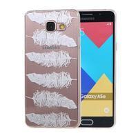 Silk Gelový obal na mobil Samsung Galaxy A5 (2016) - peříčka - 1/5