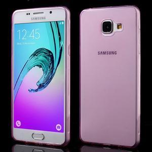 Ultratenký slim gelový obal na Samsung Galaxy A5 (2016) - rose - 1