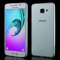 Ultratenký slim gelový obal na Samsung Galaxy A5 (2016) - světlemodrý - 1/5