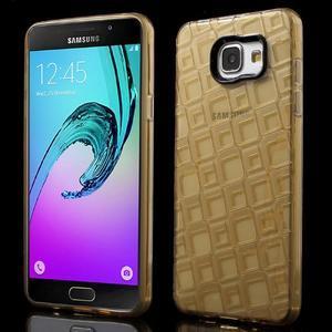 Square gelový obal na mobil Samsung Galaxy A5 (2016) - zlatý - 1