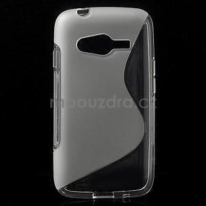 Gelové s-line pouzdro na Samsung Galaxy Ace 4 - transparentní - 1