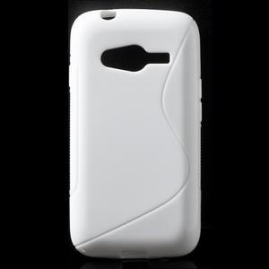 Gelové s-line pouzdro na Samsung Galaxy Ace 4 - bílé - 1