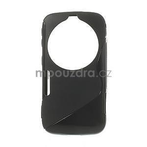 Černý s-line gelový kryt na Samsung Galaxy K Zoom C115 - 1