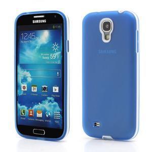 Gelové pouzdro 2v1 na Samsung Galaxy S4 - modré - 1