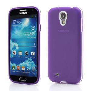 Gelové pouzdro 2v1 na Samsung Galaxy S4 - fialové - 1