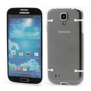 Obal na mobil se svítícími hranami na Samsung Galaxy S4 - bílé - 1